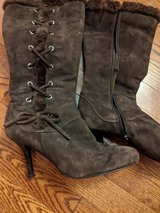 Women's lace-up boots in St. Charles, Illinois