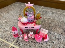 Shopkins beauty table and Shopkins to boot in Okinawa, Japan