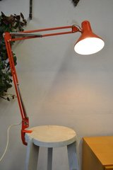 Several 60s 70s Mid century architect lamps with clampingbase Table / Desk lamp  Swing Arm in Wiesbaden, GE