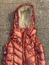 Crazy 8 rose gold puffy vest in Okinawa, Japan