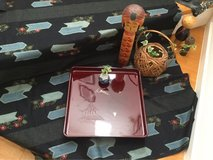 Japanese Lacquered Tray in Okinawa, Japan