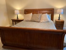 King Sleigh Bed in Houston, Texas