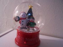 Lighted Snow Globe in Alamogordo, New Mexico