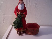 Santa Figurine Candle Holder in Alamogordo, New Mexico