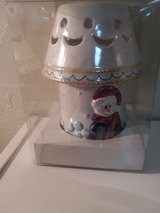 Snowman Porcelain Light in Alamogordo, New Mexico