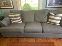 Gray couches in Naperville, Illinois