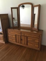 Large Dresser w/mirror in Fort Campbell, Kentucky