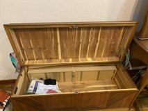 Fully lined cedar chest in Okinawa, Japan