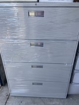 3- Four Drawer lateral file cabinets in Plainfield, Illinois