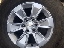 CHEVY WHEELS 17S /90% THREAD in Bellaire, Texas