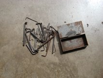 METAL BOX OF 42 ALLEN WRENCHES ( MIXED LOT ) in Chicago, Illinois