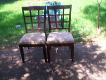 2 dining chairs in Sugar Land, Texas