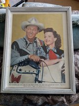 Roy Rogers & Dale Evans Picture in Lakenheath, UK