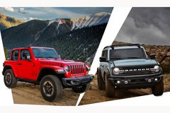 2021 Ford Bronco and 2021 Jeep Wrangler Diesel available at MAS On-Base in Wiesbaden, GE
