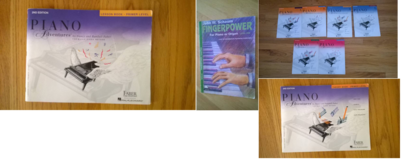 Piano Lesson books  9 books in total in Naperville, Illinois