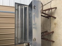 Aluminum pick up tool box in Houston, Texas