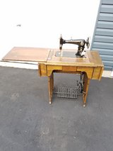 antique sewing machine in Naperville, Illinois