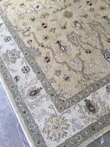 5 by 8 wool rug in Bartlett, Illinois