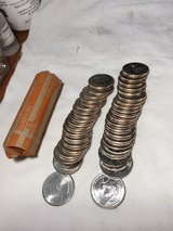 """uncirculated roll of 2019-P quarters """"War in the Pacific"""" quarters from bankroll in Beaufort, South Carolina"""
