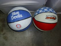 two basketballs in Fort Knox, Kentucky