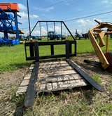 "Armstrong Double Slide Bar Pallet Fork 48"" in Pasadena, Texas"