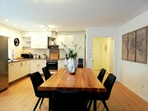 3BR 2BA TLA Apt with AC, 5min from RAB, ground floor, private terrace with grill [Ref: F24] in Ramstein, Germany