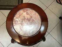Vintage Chinese Hand Carved Pedestal Stand in Houston, Texas