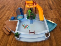 Playmobil swimming pool in Stuttgart, GE