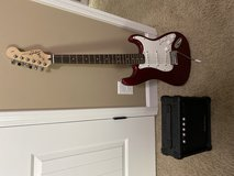 Squire Strat and Amp in Clarksville, Tennessee