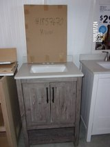 Bathroom Vanity w/ Matching Mirror {NEW} in Dover, Tennessee