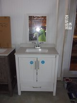 {NEW} White Vanity w/ Matching Mirror in Dover, Tennessee