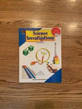 Science Investigations book grades 5-9 in Naperville, Illinois