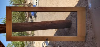 Very Nice WOOD screen door in 29 Palms, California