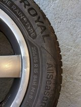 all season tires 205 65 r 15 on aluminum rims in Spangdahlem, Germany