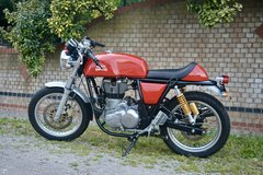 ROYAL-ENFIELD-CONTINENTAL-GT-535-1739 MILES FROM NEW in Lakenheath, UK