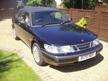 saab 900s convertable manual in Lakenheath, UK