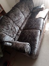 Three Seater Coach with Two Matching Chairs in Lakenheath, UK