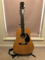 Acoustic Guitar with Stand in Beaufort, South Carolina