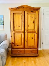 Walter E Smithe Solid Pine Armoire/Entertainment Ctr in Naperville, Illinois