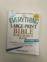 Bible Large Print Word Search Book in Travis AFB, California