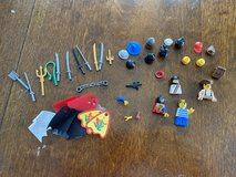 Assorted LEGO Mini Figures Pieces & Accessories in Naperville, Illinois