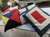 4 nautical pillows in Kingwood, Texas