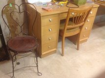 Mid Century Modern Desk and Chair in Naperville, Illinois