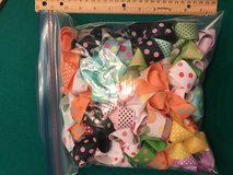 """7/8"""" Unfinished Boutique Style Bows in Naperville, Illinois"""