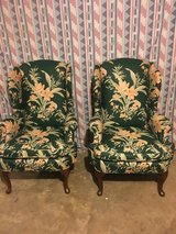 2 very nice wing back chairs in Fort Campbell, Kentucky