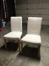 2 soft white chairs in Travis AFB, California