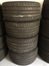 Dunlop SuperSports RUNFLATS SUMMER  (2) 275/40 r20  And (2) 315/35 r20 X5/X6 in Ramstein, Germany