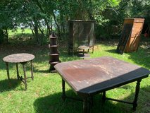Vintage Furniture -China Cabinent, Dining Room Table, Small table in Beaufort, South Carolina