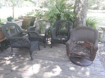 3 Patio chairs in Cleveland, Texas