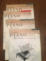 Accelerated Piano Adventures Instruction Books (set of 4) in St. Charles, Illinois